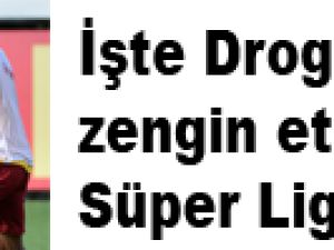 İşte Drogba'nın zengin ettiği Süper Lig takımı