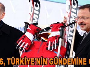 ERCİYES, TÜRKİYE'NİN GÜNDEMİNE OTURDU