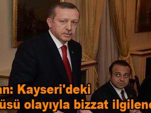 Erdoğan: Kayseri'deki başörtüsü olayıyla bizzat ilgileneceğim