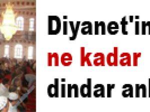 Diyanet'in Türkiye ne kadar dindar anketi
