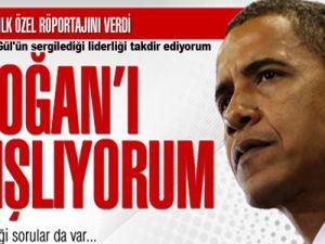 Obama Cumhurbaşkanı Gül'ün sergilediği liderliği takdir ediyorum