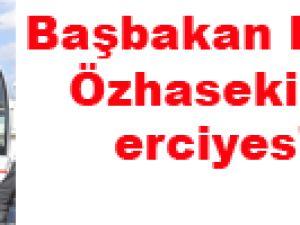 Başbakan Erdoğan Özhaseki el ele erciyes'te