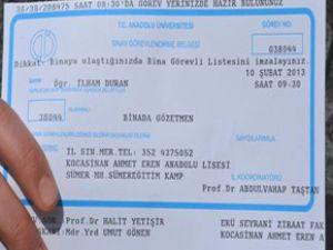 Kocasinan Ahmet Eren Anadolu Lisesi'nde Başörtülü Diye Sınava Alınmadı