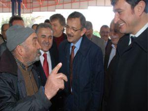 BAŞKAN ÖZHASEKİ  ESNAF'I ZİYARET ETTİ