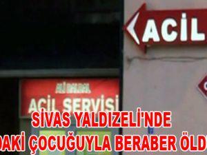 SİVAS'TA YALDIZELİ'NDE KARNINDAKİ ÇOCUĞUYLA BERABER ÖLDÜRÜLDÜ!