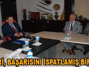 """""""KAYSERİ, BAŞARISINI İSPATLAMIŞ BİR ŞEHİR"""""""