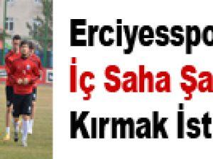 Erciyesspor İç Saha Şanssızlığını Kırmak İstiyor