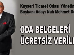 KTO Yönetim Kurulu Başkanı Adayı Nuh Mehmet Delikan: