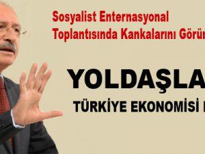 Kılıçdaroğlu Portekiz'de Türkiye ekonomisini eleştirdi