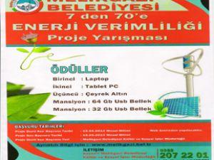Melikgazi Belediyesi'nden Enerji Verimliliği Yarışması