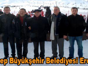 Gaziantep Büyükşehir Belediyesi Erciyes'te