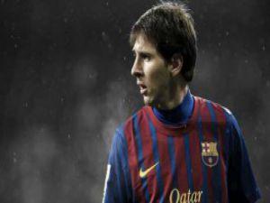 Bir tükürük olayı da Lionel Messi'den!