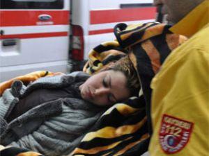 Kayseri'de genç bayan'ın intihar girişimi