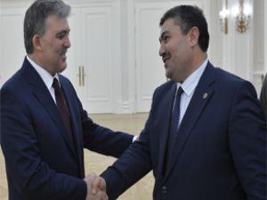 Cumhurbaşkanı Gül Kayseri heyetini kabul etti