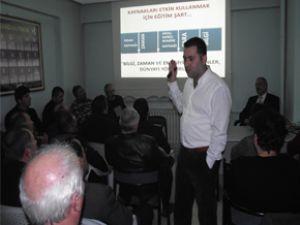 MHP TALAS TEŞKİLATI'NDAN 'SİYASET İLETİŞİMİ' KONFERANSI