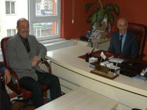 Kayseri CHP il Başkanı Sadık Atila'dan Otobüscüler Odasına Ziyaret