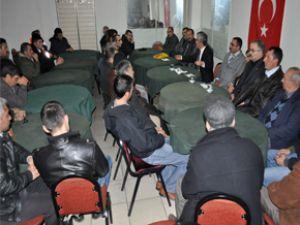 MHP MELİKGAZİ'DEN ESKİŞEHİR BAĞLARI'NDA İSTİŞARE TOPLANTISI YAPTI