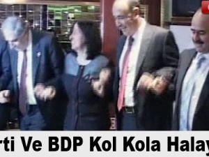 AK Parti ve BDP kol kola halay çekti