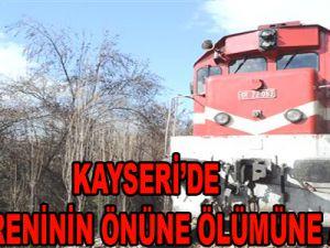 Kayseri'de Yük Treninin Altında Kalarak Öldü