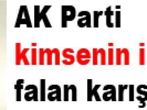 AK Parti kimsenin içkisine falan karışmıyor