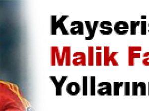 Kayserispor Malik Fathi ile Yollarını Ayırdı