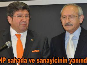 """Boydak: """"Artık CHP sahada ve sanayicinin yanında olmalı."""""""