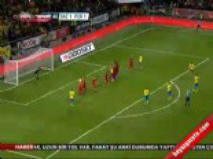 İsveç Portekiz: 2-3 Maç Özeti İzle Nefeleri kesti-video