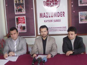 KAYSERİ MAZLUMDER'İN POLİS AÇIKLAMASI