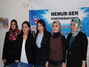 Memur-Sen Kayseri Kadın Kolları Başkanlığı Açıklaması