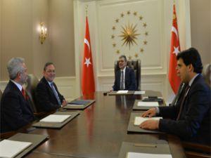 Kayseri SMMM Odası  Başkanı Suat Özsoy Cumhurbaşkanı Gül ile görüştü