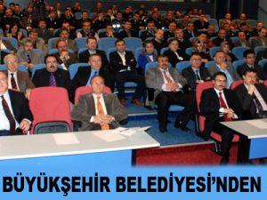 KAYSERİ BÜYÜKŞEHİR BELEDİYESİ'NDEN SEMİNER
