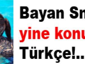 Bayan Sneijder yine konuştu! Türkçe!..
