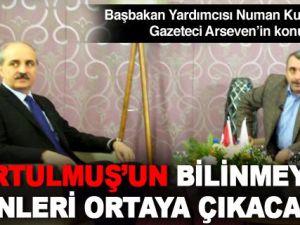 Numan Kurtulmuş Sinan Burhan ve  Arseven'e konuk oldu