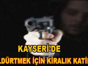 Kayseri'de Eşini Öldürtmek İçin Kiralık Katil Tuttu