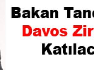 Bakan Taner Yıldız Davos Zirvesi'ne Katılacak