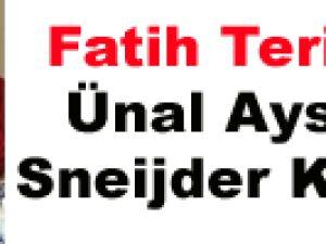 Fatih Terim ve Ünal Aysal'ın Sneijder Kavgası