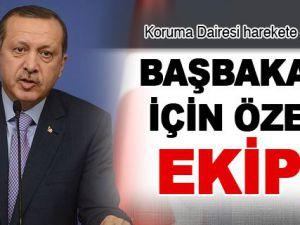 Başbakan Erdoğan için özel ekip