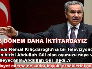 Muhalefeti Leman kapağıyla vuran Arınç iddialı konuştu...
