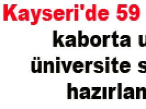 Kayseri'de 59 yaşındaki kaborta ustası üniversite sınavına hazırlanıyor