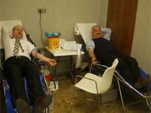Kınaş Çalışanları Kan Bağışında Bulundu