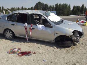Kayseri'de Trafik Kazası: 1 Ölü 2 Yaralı