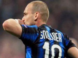 YWesley Sneijder Galatasaray'da Snejder işi bitti!..Snejder Türkiye'de