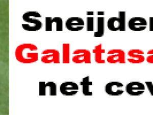 Sneijder'dan Galatasaray'a net cevap!
