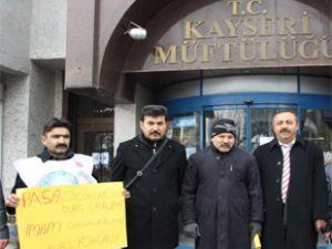 KAYSERİ TÜRK DİYANET VAKIF-SEN'DEN BURS TEPKİSİ