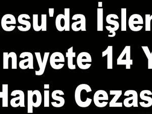 İncesu'da İşlenen Cinayete 14 Yıl Hapis Cezası