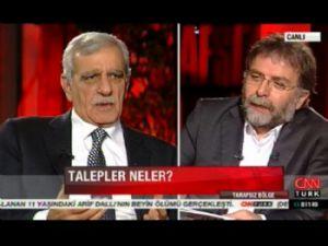 Ahmet Türk, Öcalan'ın barış planını canlı yayında anlattı