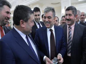 Cumhurbaşkanı Gül, Kayseri Ziraat Odaları Heyetini Kabul Etti
