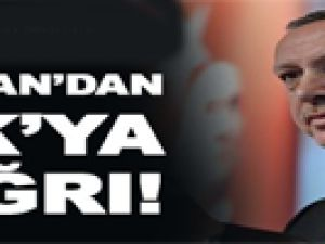 Başbakan'dan PKK'ya Çağrı!
