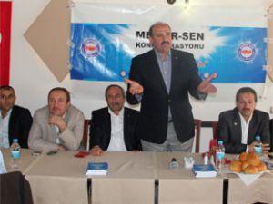 Memur-Sen Kayseri şubesi Kasım ayı il divan toplantısını yaptı