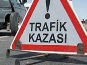 Dadağı mahallesinde trafik kazası